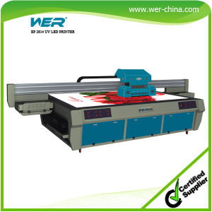 LED UV Flatbed Printer 2.8m *1.3m for Hard Materials pictures & photos