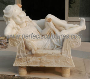 Stone Marble Statue Carving Sculpture for Garden Decoration (SY-C068) pictures & photos
