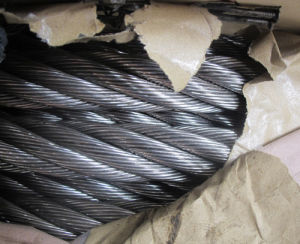Ungalvanized Steel Wire Rope 6X37+Iwrc pictures & photos