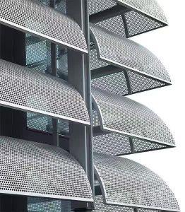 Perforated Metal Mesh / Perforated Metal Aluminum Mesh Speaker Grille pictures & photos