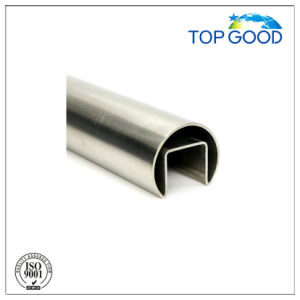 Stainless Steel Ss304/316 Round Channel Tube/Slot Tube (51000) pictures & photos