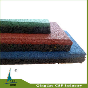 Anti Slip Waterproof Rubber Floor Tiles pictures & photos