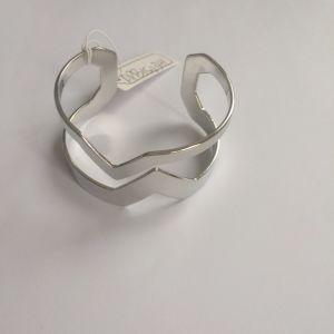 Big Metal Silver Exaggeration Bracelet Fashion Jewellery