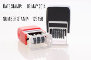 Self Inking Date Stamps 3mm pictures & photos