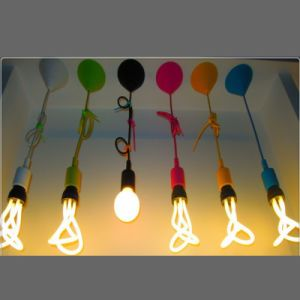 Silicon Ceiling Rose Pendant Light pictures & photos