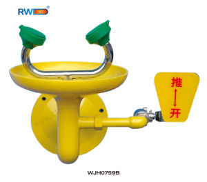 Safety Equipment, Wall Mounted Eye Wash (WJH0759B) pictures & photos