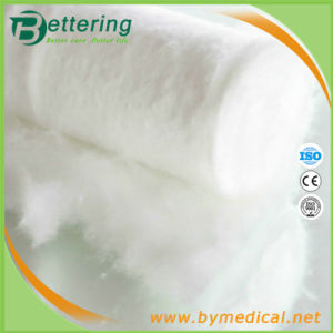 Medical Absorbent Cotton Wool Roll pictures & photos
