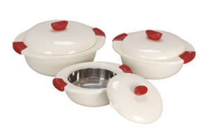 3 PC ABS Plastic Food Warmer pictures & photos