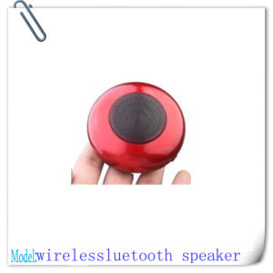 Red Elegant Protable Mini Bluetooth Wireless Speaker