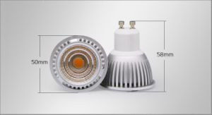 GU10 7W COB 85-265 Warm White LED Spotlight pictures & photos
