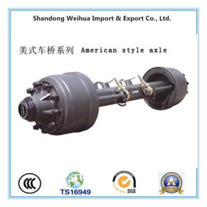 American Type Trailer Axle, Truck Trailer Parts pictures & photos