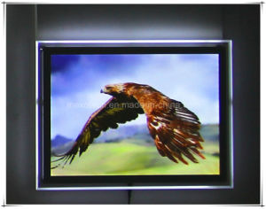 Wall Mounted Magnetic LED Poster Frame Acrylic Poster Board pictures & photos
