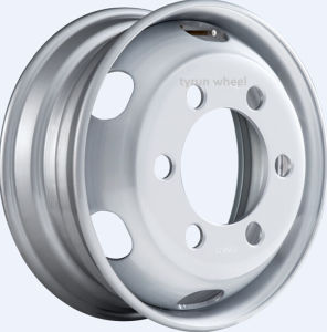 22.5X9.00 Truck Steel Wheel with TUV (22.5*9.00 22.5*8.25) pictures & photos