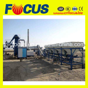 20tph, 40tph, 60tph, 80tph Small Portable Continuous Asphalt Mixing Plant pictures & photos