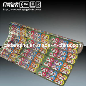 Plastic Food Packaging PS/PVC/Pet Cup Sealing Roll Film (DQ) pictures & photos
