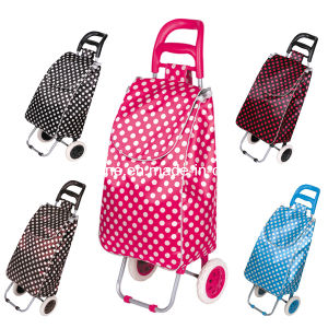 Foldable Shopping Bag with Wheels (XY-404C3) pictures & photos