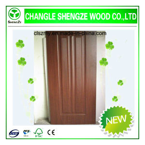 Melamine HDF Moulded Door Skin pictures & photos
