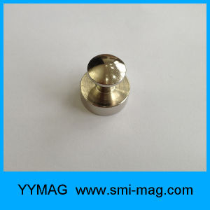 Metal Neodymium Magnetic Push Pins for Fridge/Whiteboards/Maps pictures & photos