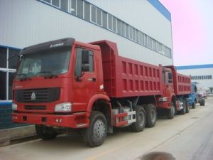 HOWO 336HP Euro II Emission 6X4 Tipper Truck (ZZ3257N3447A1/NOWA) pictures & photos