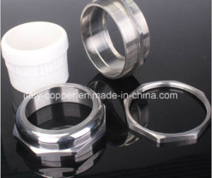 ODM Type Nickel Plated Brass Cable Gland Coupling (ZIC-70008) pictures & photos