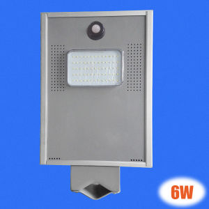 6W Hot Sale Fashion All in One Solar Street Light Within Battery pictures & photos