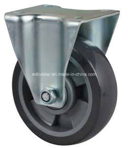 "Edl Medium 5"" 200kg Rigid PU Caster 6405-76"