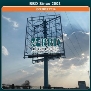 Nice Design Double Sided Steel Structure Billboard