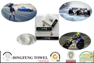 2016 Hot Sale Professional 100% Cotton Racing Club Towel pictures & photos