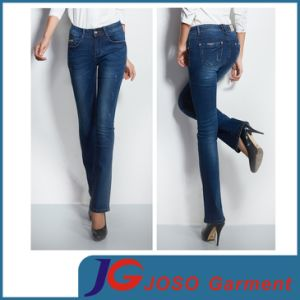 Factory Wholesale Lady Jeans Denim Pants (JC1251) pictures & photos