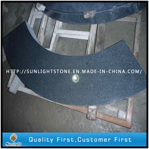 Polished Padang Dark G654 Granite Stone Stairs for Outside Paving pictures & photos