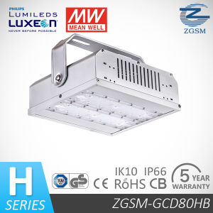 80W IP66&Ik10 Aluminum Alloy LED Bay Light with 1-10V Dimming Function pictures & photos