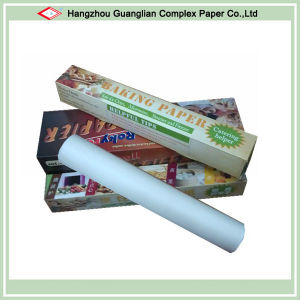 Custom Silicone Coated Baking Paper Roll pictures & photos