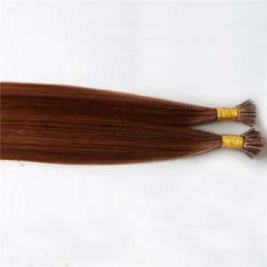 Real Human Hair Extensions Stick Hair I-Tip Prebonded Hair pictures & photos