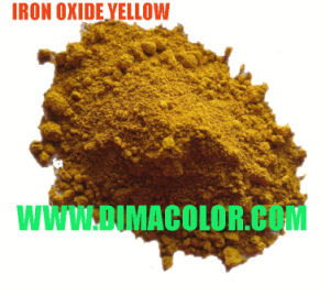 Economic Grade Iron Oxide Yellow 313, 920 for Construction Material 580USD/Mt pictures & photos