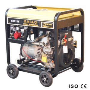 10kVA Generator Set Double Cylinder 10kw Key Start Generator pictures & photos