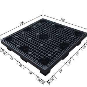 Single-Sided Light-Duty Plastic Pallet for Storage and Logistics pictures & photos