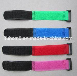 Customized Self-Locking Nylon Hook and Look Hook & Loop Cable Tie pictures & photos