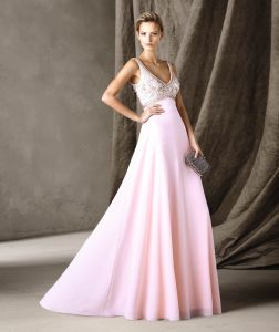 A-Line Empire Waist Sweetheart Full-Length Bridesmaid Dress (BD10044)