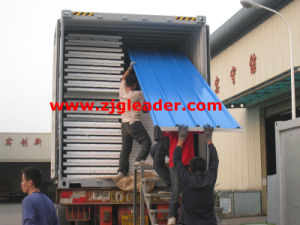 Color Steel Sandwich Panel (EPS foam) pictures & photos