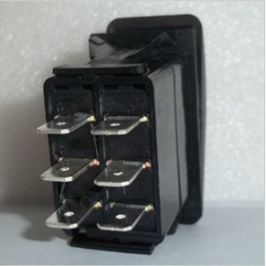 6 Pin Dpdt Marine Boat Waterproof Rocker Switch on-off-on Without Light pictures & photos