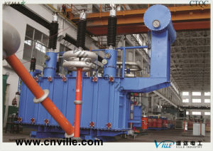 63mva 110kv Dual-Winding Load Tapping Power Transformer pictures & photos