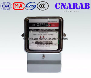 Single Phase Electric Meter with Iron Base and Glass Cover pictures & photos