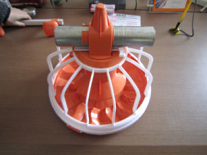 Automatic Poultry Farm Equipment Feeder Pan Feeding System for Broiler Chicken pictures & photos