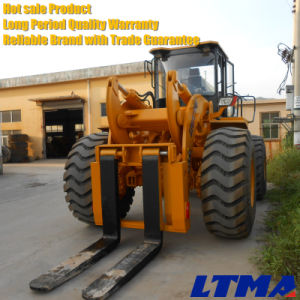 Granite Machinery 28 Ton Forklift Loader with Fork pictures & photos