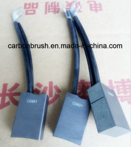 Manufacturer Copper Carbon Brush CG651 For Motor pictures & photos