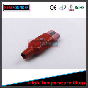 Aluminum Shell Ceramic Plug with Red Silicone Tail pictures & photos