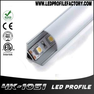 4105 90 Degree Aluminium Extrusion LED Profile for Shelf Light pictures & photos