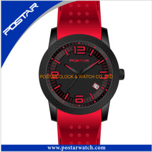 Newest Sport Watch Silicone Band Watch with Waterproof Quality pictures & photos