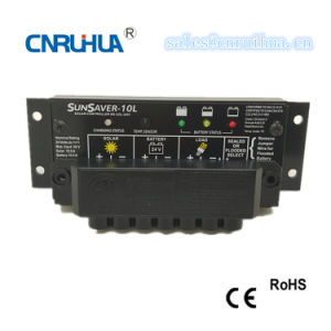 Ce RoHS Waterproof PWM 10A 12V Street Solar Charger Controller pictures & photos
