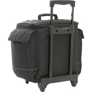 Large Capacity 12 Bottle Wine Carrie Wheel Wine Bag Cooler pictures & photos